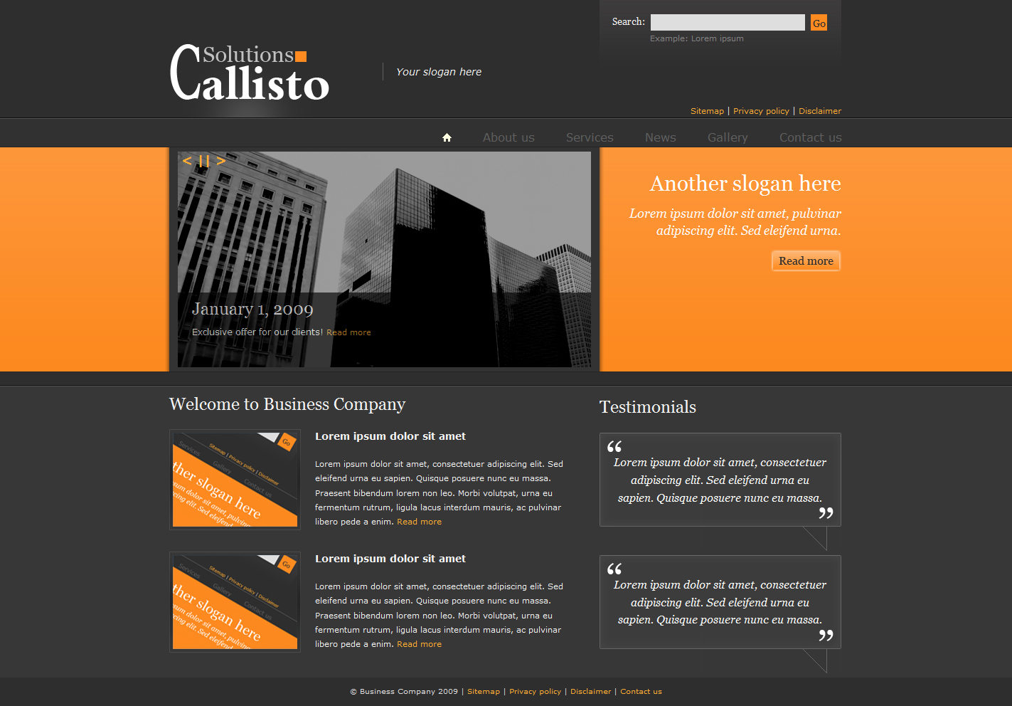 Free Download Callisto Business Package Nulled Latest Version
