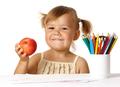 Happy Child In Preschool - PhotoDune Item for Sale