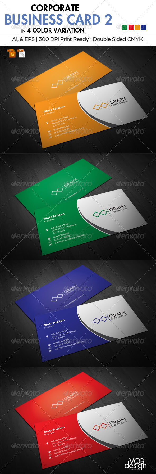 Corporate Business Card 2 - Creative Business Cards