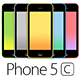 Phone 5c Mockups - GraphicRiver Item for Sale