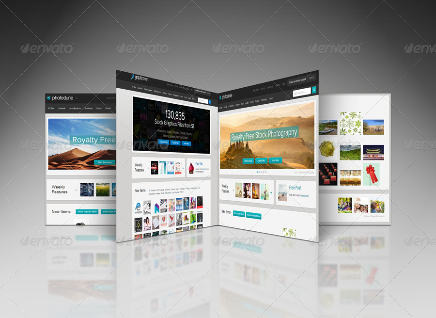 3d Web Page Display Pack V3 By Towhid123griver Graphicriver