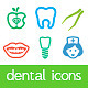 Dental Icons - GraphicRiver Item for Sale
