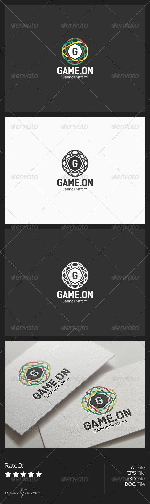 Gaming Logo - Vector Abstract