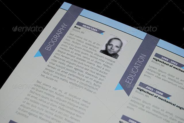 Personal Resume Folder by krneki9