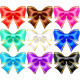 Silk Bows with Golden Edging - GraphicRiver Item for Sale