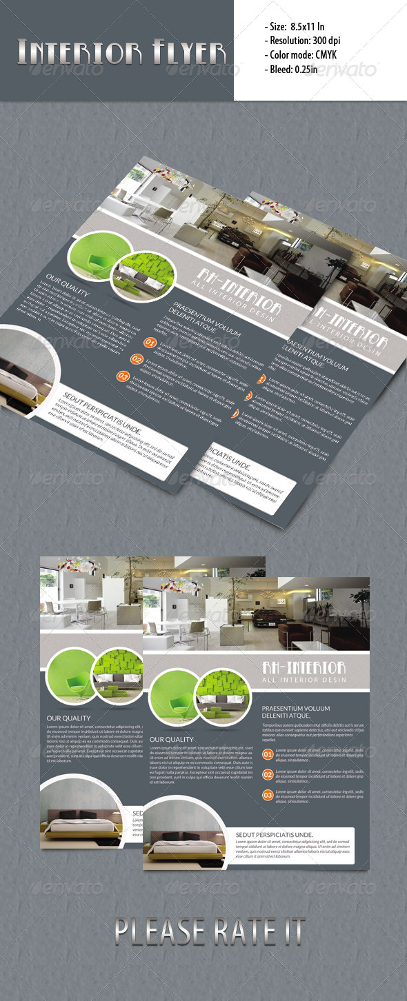 Interior Flyer - Corporate Flyers