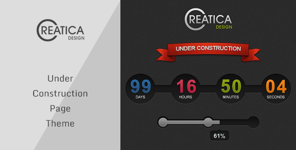Creatica – Under Construction Theme