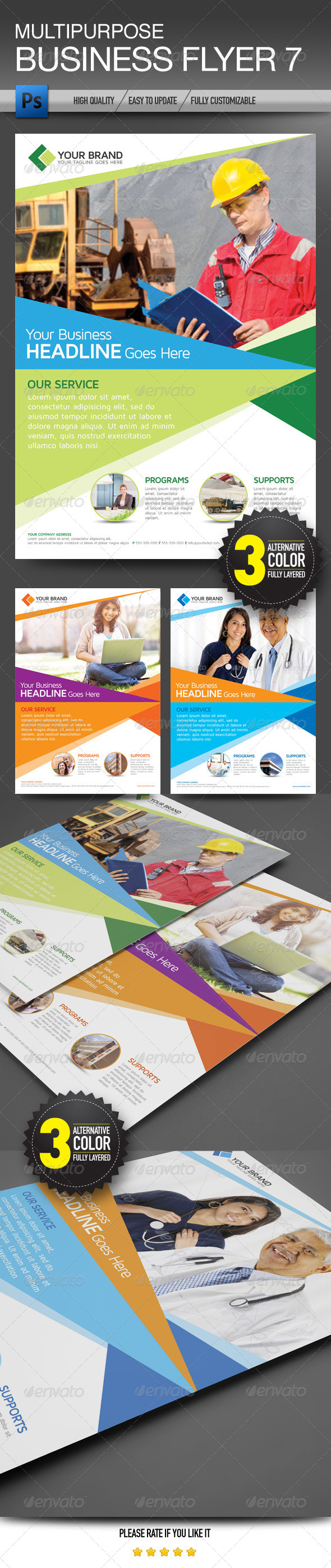 Multipurpose Business Flyer 7 - Corporate Flyers