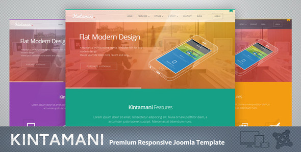 Kintamani – Responsive Multi-Purpose Joomla Theme