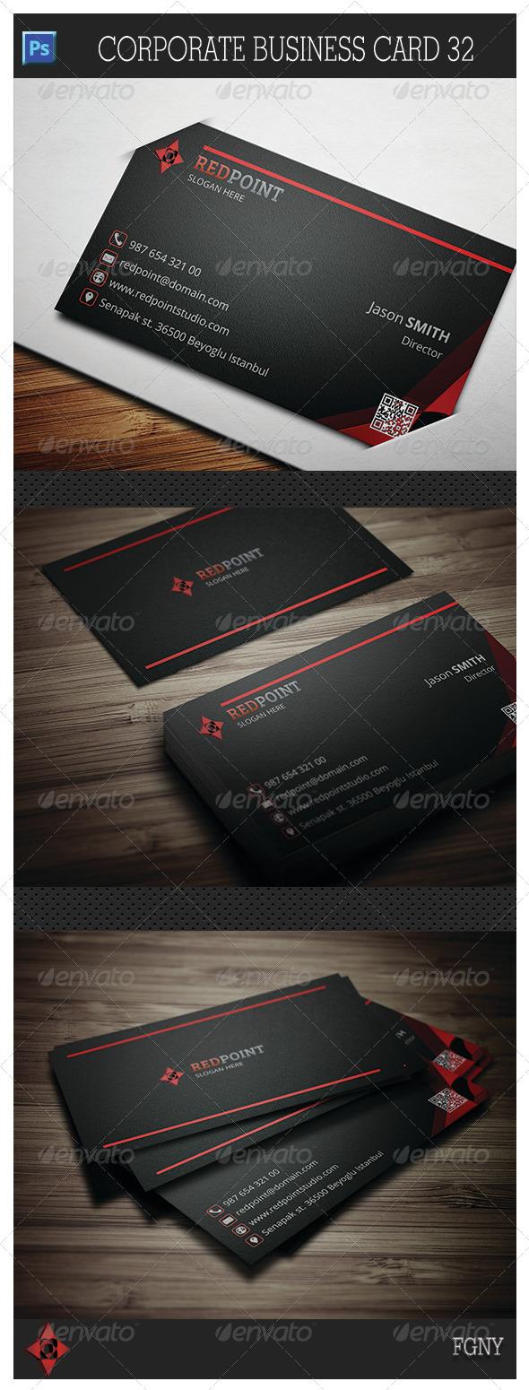 Corporate Business Card 32 - Corporate Business Cards