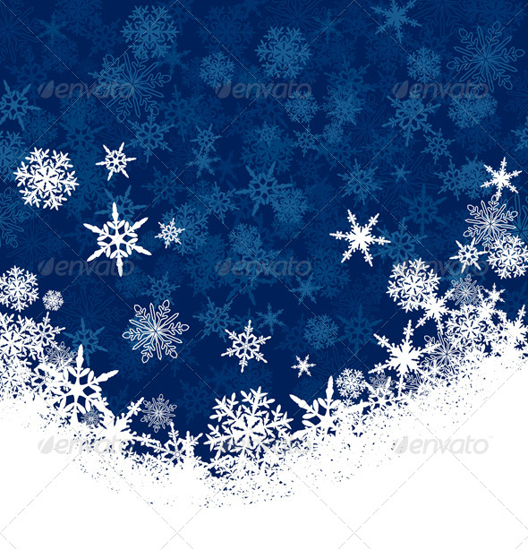 snowflake christmas card background christmas seasonsholidays