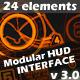 Modular HUD Interface v 3.0 - VideoHive Item for Sale