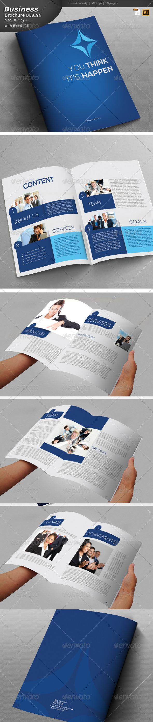 Business Brochure Design  - Brochures Print Templates