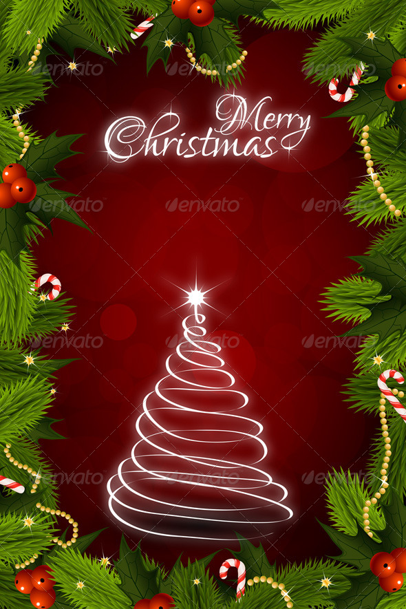 Christmas Greeting Card - Christmas Seasons/Holidays