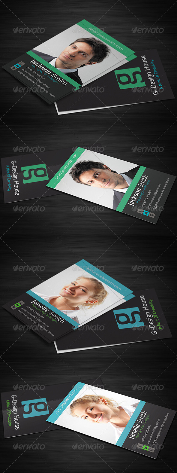 Corporate Business Card Vol-2 - Corporate Business Cards