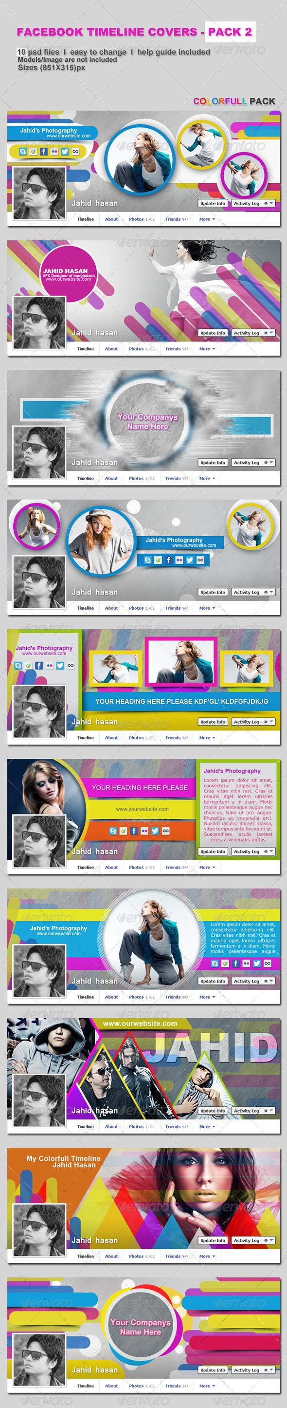 FaceBook Timeline Covers - Pack2 - Facebook Timeline Covers Social Media