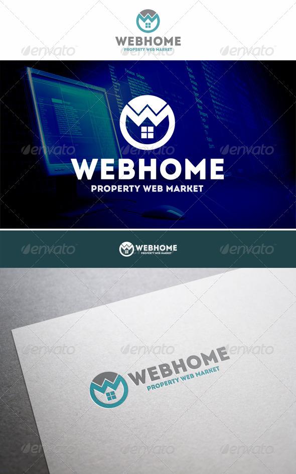Web Home Property Logo - Buildings Logo Templates