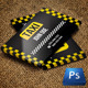 Blackish Taxi Business Card - GraphicRiver Item for Sale