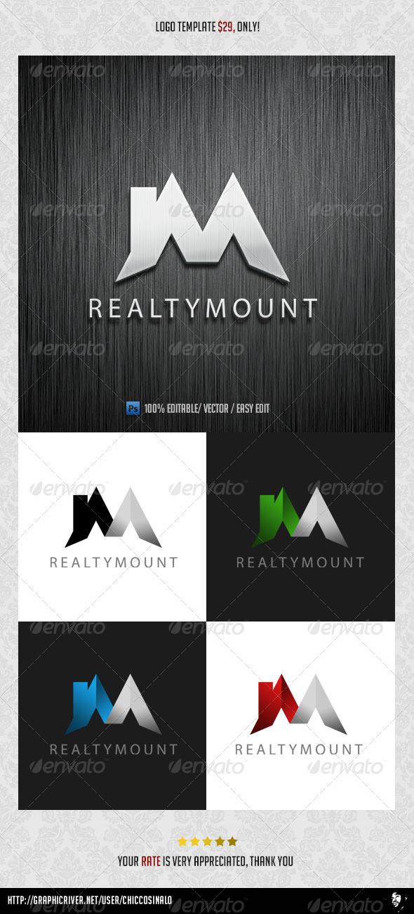 RealtyMount Logo Template - Buildings Logo Templates