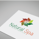 Natural Spa Logo Template - GraphicRiver Item for Sale