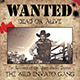 "Wild West Style ""WANTED"" Flyer or Poster - GraphicRiver Item for Sale"