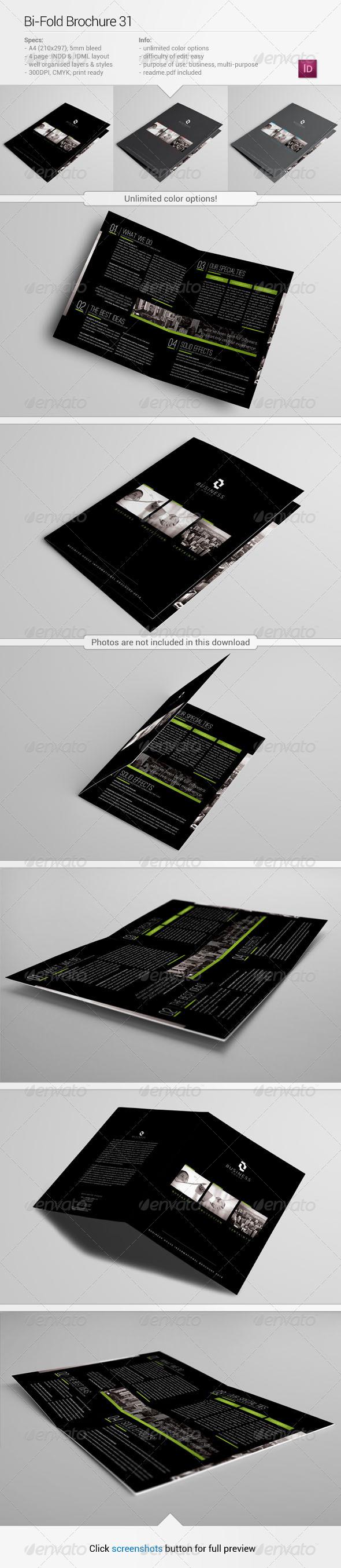 Bi-Fold Brochure 31 - Corporate Brochures