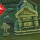 Low Poly Cemetery Starter Set - 3DOcean Item for Sale
