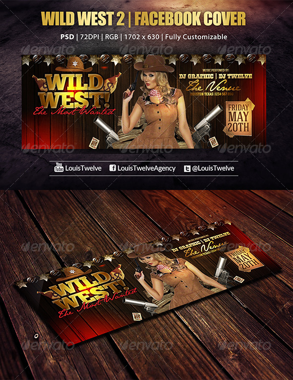 Wild West 2 | Facebook Cover - Facebook Timeline Covers Social Media