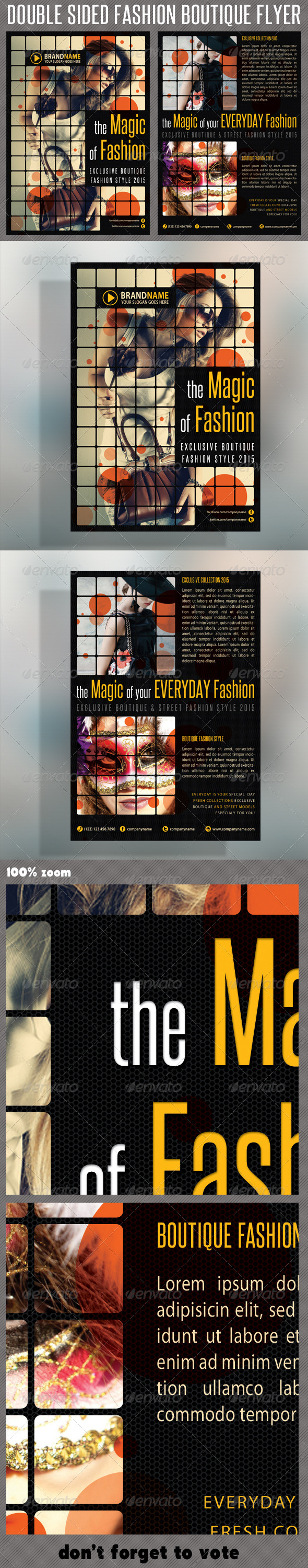Fashion Product Flyer 05 - Events Flyers