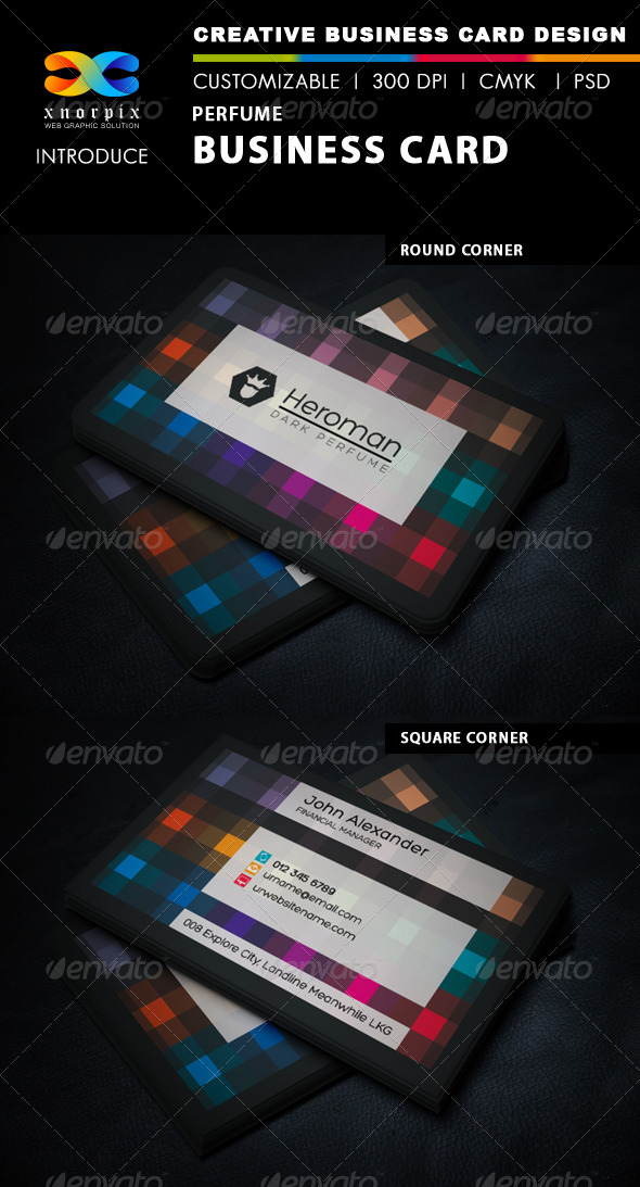Perfume Business Card - Corporate Business Cards