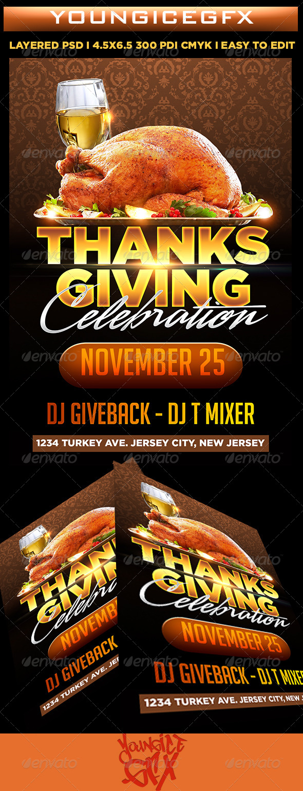 Thanksgiving Celebration - Holidays Events