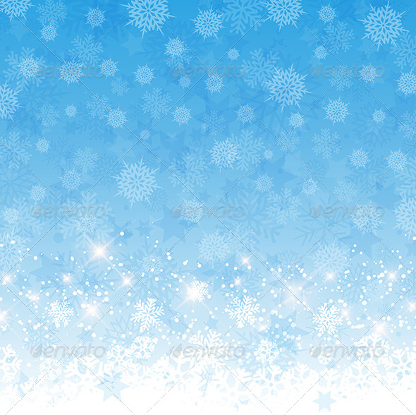 snowflake background by kjpargeter  graphicriver, Powerpoint
