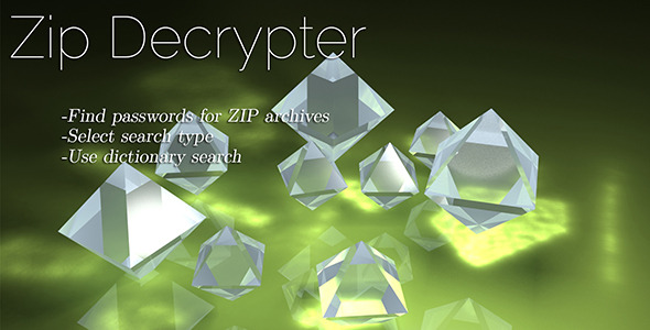 Zip File Decrypter - CodeCanyon Item for Sale