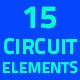 Circuit Elements Pack - VideoHive Item for Sale
