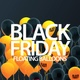 Black Friday Floating Balloons in 4K with Alpha - VideoHive Item for Sale