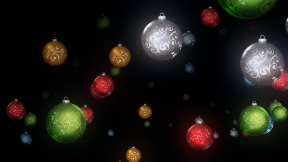 Christmas Ornament Background.Christmas Ornament Background