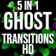 Cute Ghost Transitions  - VideoHive Item for Sale