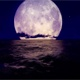 Moonrise In The Ocean - VideoHive Item for Sale