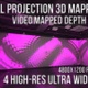 Wall Projection Mapping - 3D illusion Starter Kit (Voronoit Style) - VideoHive Item for Sale