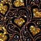 Pattern Decorative Vintage Hearts - VideoHive Item for Sale