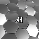Metal Abstract Hexagonal Grid - VideoHive Item for Sale