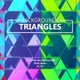 Triangles Geometric Gradient Backgrounds - VideoHive Item for Sale