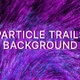 UHD 4K Particle Trails Background - VideoHive Item for Sale