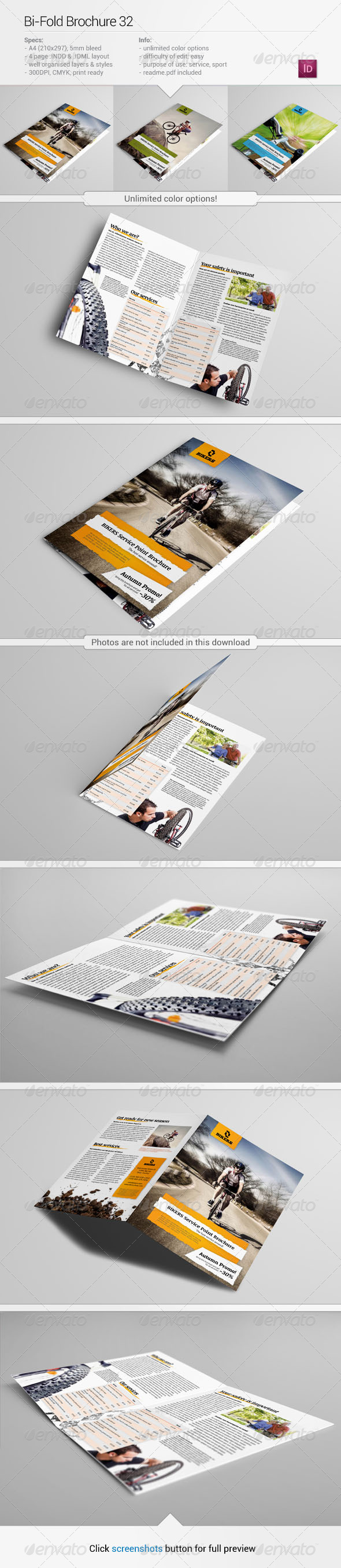 Bi-Fold Brochure 32 - Informational Brochures