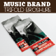 Music Brand Trifold Broshure - GraphicRiver Item for Sale