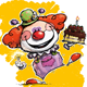 Happy Clown - Birthday Cake - GraphicRiver Item for Sale