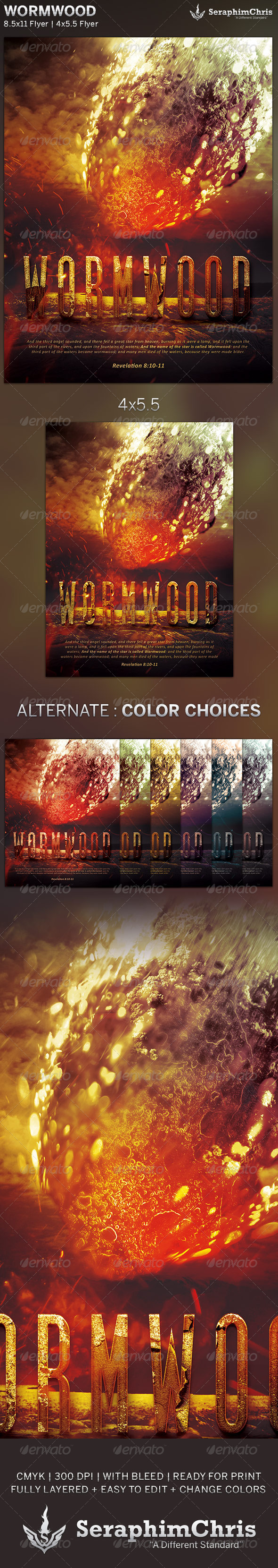 Wormwood: Church Flyer Template - Church Flyers