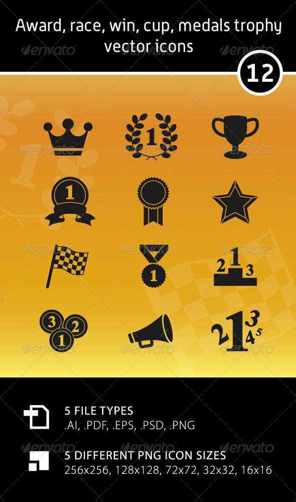 Award Vector Icons - Miscellaneous Characters