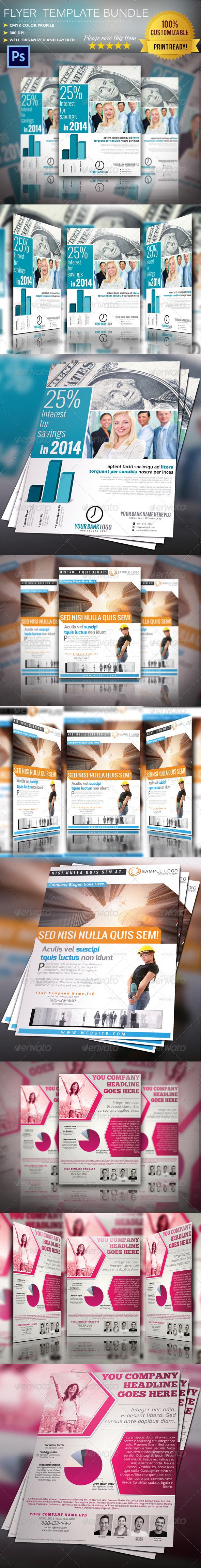Flyer/Poster Bundle Vol.4 - Corporate Flyers