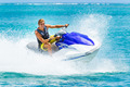 Young Man on Jet Ski - PhotoDune Item for Sale
